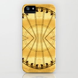 Carnival Cryptography iPhone Case