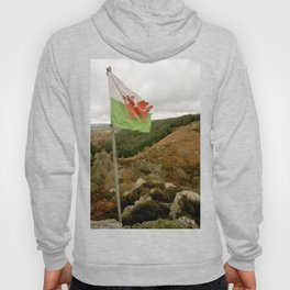Top of the Hill Welsh Flag Hoody