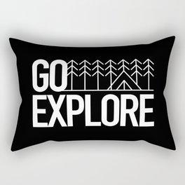 Go Explore Rectangular Pillow