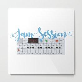 Jam Session Metal Print