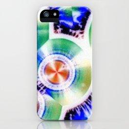Happy Vitamin C Crystals in Sunlight iPhone Case