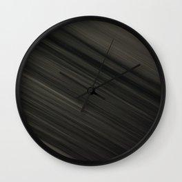 Líneas difusas Wall Clock