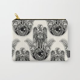 Hamsa Hand Elephant Carry-All Pouch