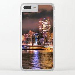 Leaving Seattle, December, 2015 Clear iPhone Case
