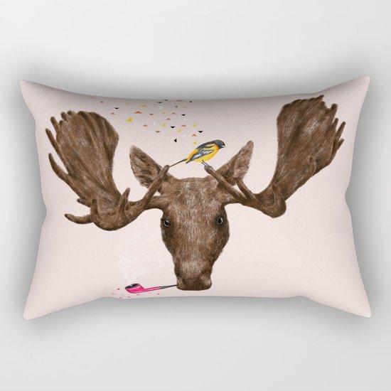 Moose II Rectangular Pillow