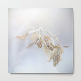 Winter Stillness Metal Print