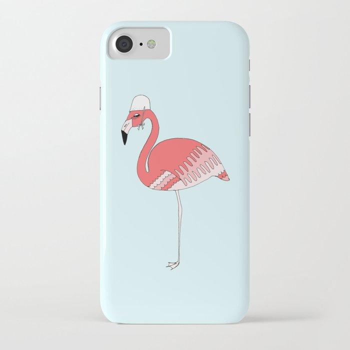 FLAMINGO - Pompettes iPhone Case