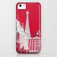 Glorious Paris - Red iPhone 5c Slim Case