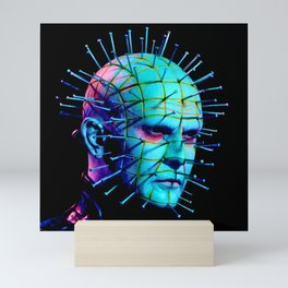 Pinhead Hellraiser - Neon Night Mini Art Print