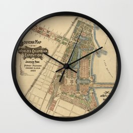 Chicago World Exposition 1893 Wall Clock
