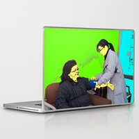 doctor Laptop & iPad Skins featuring Doctor by lookiz