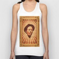 tom waits Tank Tops featuring Waits by Durro