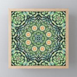 Succulent Splendor Framed Mini Art Print