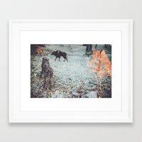louis Framed Art Prints featuring Louis by Lunakhods