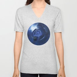 Through Time and Space Unisex V-Neck