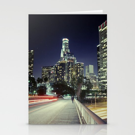 Black River, Your City Lights Shine Stationery Cards