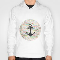anchor Hoodies featuring Anchor by Berreca