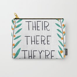 Their There They're - Grammar Lessons Carry-All Pouch