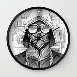 Def Vader Wall Clock