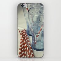 coca cola iPhone & iPod Skins featuring Coca~Cola by Heather McGuire