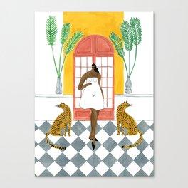 Ashish Dress Canvas Print