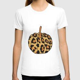 Leopard Pumpkin Shirt T-shirt