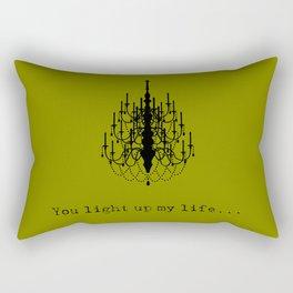 You light up my life... Rectangular Pillow