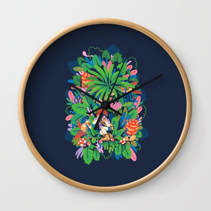 Oh Snap! Wall Clock
