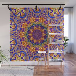 Eleventh Mandala Of Life For A Rosy Spring Wall Mural