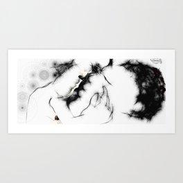 The Kiss (060413) Art Print