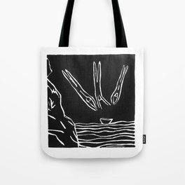 3 Divers Tote Bag
