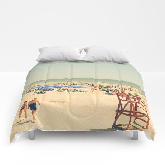 Beach People Comforters