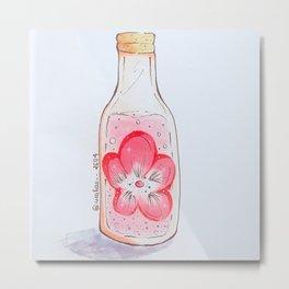 Sakura sake Metal Print