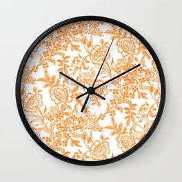 Morning Tea Reversed Wall Clock