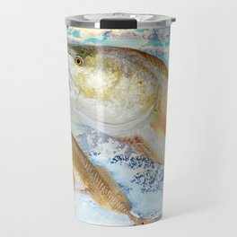 Red Fish Travel Mug