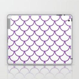 Purple Fish Scales Pattern Laptop & iPad Skin