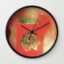 The Left Eye of Horus Spray Paint Graffiti Wall Clock