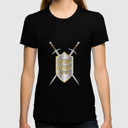 Crossed Swords and Shield T-shirt