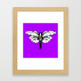 """Koloman (Kolo) Moser """"Butterfly design"""" (3) Framed Art Print"""