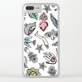 Milagros Clear iPhone Case