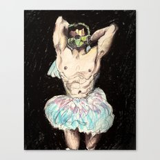 Master Chief Ballerina.  Canvas Print