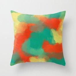 Tropicool Throw Pillow