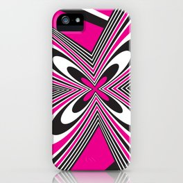 Funky Pink iPhone Case