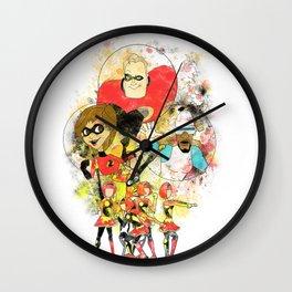 Disney Pixar Play Parade - Incredibles Unit Wall Clock