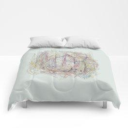 RoseBud Meshwork Comforters