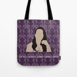 The Sign of Three - Janine Tote Bag