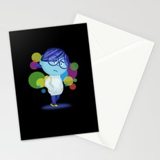 Inside Out Sadness Stationery Cards