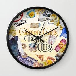 GG Book Club Wall Clock