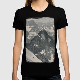 Swiss Mountain Panorama Litho T-shirt