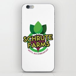 The Office - Schrute Farms Custom Logo iPhone Skin